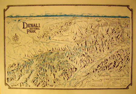 Denali National Park Map