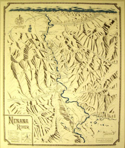 Nenana River Map